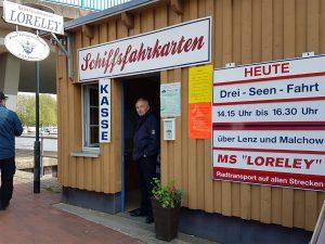 Schifffahrt Plau Ticketverkauf Schiffsfahrkarten