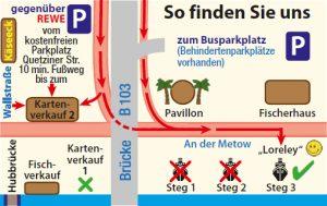 route zum anleger steg 3